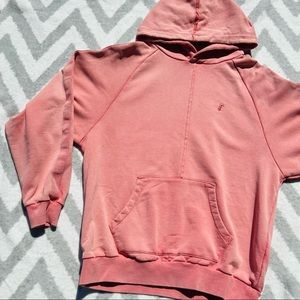 FairPlay | Red/Pink Mens Pull over Oversized Hoodie
